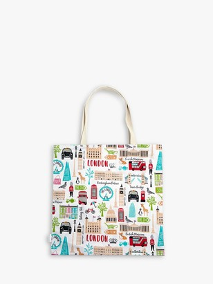 Milly Green London Adventures Recycled Cotton Shopper