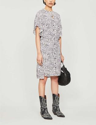 Zadig & Voltaire Rafix floral-print crepe maxi dress