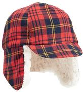Old Navy Plaid Sherpa-Lined Trapper Hat for Baby