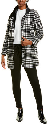 Kensie Houndstooth Coat