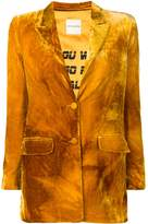 Each X Other velvet blazer