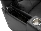 Large Home Theater Row Seating (Row of 2) Latitude Run Reclining Type: Power, Body Fabric: Classic Midnight