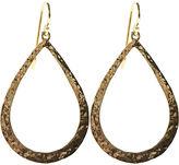 18k Gold Teardrop Earrings