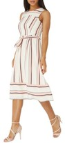 Dorothy Perkins Women's Stripe Midi Dress