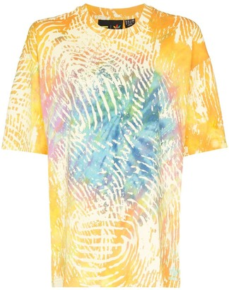 adidas x Pharell Williams tie-dye T-shirt