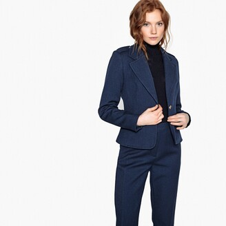 La Redoute Collections Tailored Military Jacket