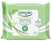 Simple Cleansing Wipes, 25 wipes, 4 Count