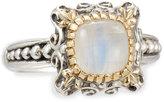 Konstantino Erato Delicate Square Labradorite Doublet Ring, Size 7