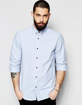 ONLY & SONS Oxford Shirt In Regular Fit