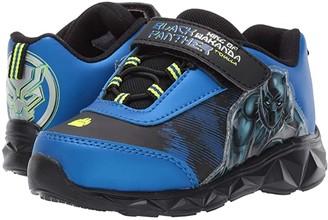 Favorite Characters Black Panthertm Lighted Athletic AVF360 (Toddler/Little Kid) (Black) Boy's Shoes
