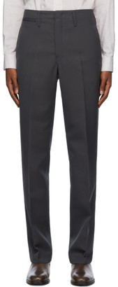 Lemaire Grey Straight-Leg Trousers