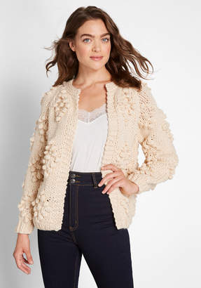 ModCloth Textured Touch Cardigan