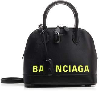 Balenciaga Ville Logo Top Handle Tote Bag