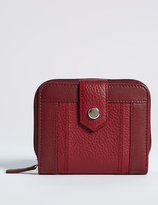 Marks and Spencer Leather Stud Purse with CardsafeTM