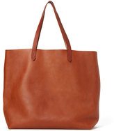 Madewell Transport Tote Bag in English Saddle