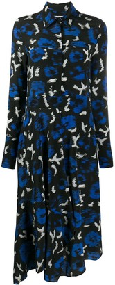 Christian Wijnants Abstract Print Dress