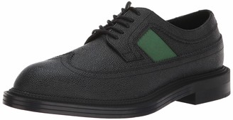 Calvin Klein Men's Carper Loafer Black/Grass Green 10.5 M US