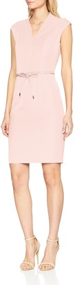 Comma Women's 8T.803.82.4366 Knee-Length Pencil Short Sleeve Dress