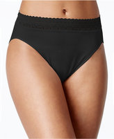 Bali Comfort Revolution Microfiber Lace High-Cut Panties 303J