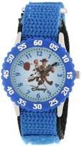 """Disney Kids' W000061 Toy Story 3 """"Time Teacher"""" Woody & Jessie Stainless Steel Watch With Nylon Band"""