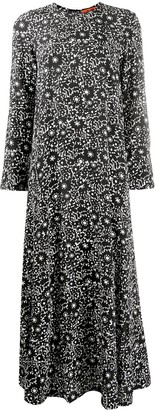 colville Floral Print Silk Maxi Dress
