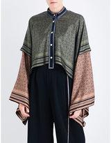 Loewe Anagram silk jacket