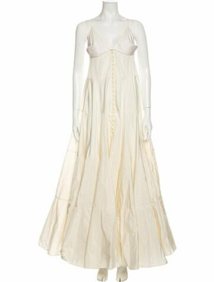 Jacquemus V-Neck Long Dress w/ Tags
