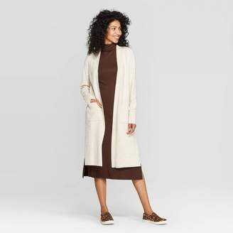 A New Day Women's Long Sleeve Cozy Open Layer Sweater Cardigan