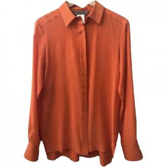 Sportmax \N Orange Silk Top for Women