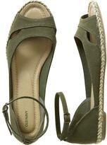 Women's Peep-Toe Espadrille Sandals