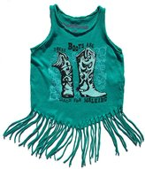 Rowdy Sprout Baby Girl's Boots Hippie Shake Tank
