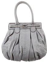 Zagliani Python Handle Bag