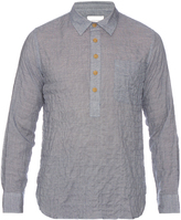 Solid & Striped Popover cotton-blend shirt