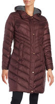 Andrew Marc Rayna Chevron Quilted Down Coat