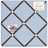 JoJo Designs Starry Night Stars and Moons Fabric Memory/Memo Photo Bulletin Board by Sweet