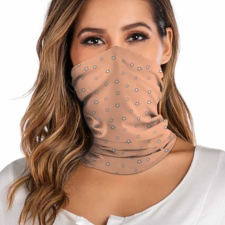 Blingko Ladies Neckerchief Tube Cloth Mouth Guard Multifunctional Cloth Summer Breathable Thin Outdoor Tube Scarf