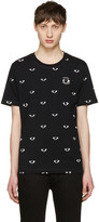 Kenzo Black All-Over Eye T-Shirt