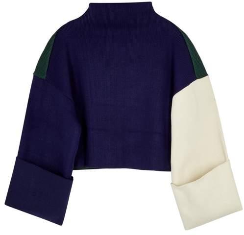 Parker Rejina Pyo Colour-block Knitted Jumper