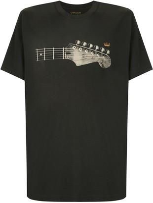 OSKLEN Vintage Guitar Head print T-shirt