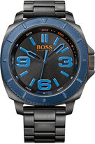 BOSS ORANGE Men's Sao Paulo Black Ion-Plated Stainless Steel Bracelet Watch 50mm 1513160