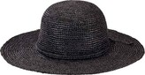 San Diego Hat Company Women's Crochet Raffia Round Crown Sun Brim Hat RHM6007