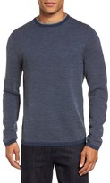 Nordstrom Men's Big & Tall Textured Merino Wool Sweater