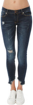 C&C California CandC California Haiden Low Rise Uneven Ankle Skinny Jean