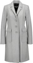 Maje Martingale wool-blend coat