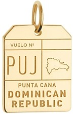 Jet Set Candy Puj Punta Cana Dr Luggage Tag Charm