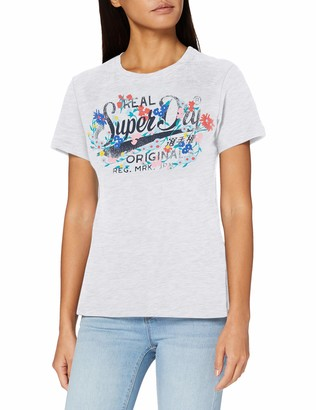 Superdry Women's Real Originals Floral Tee T-Shirt