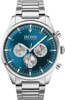 BOSS Pioneer Stainless Steel Chronograph Bracelet Watch