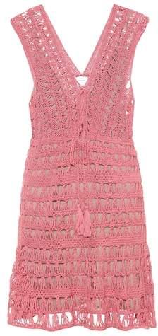 Anna Kosturova Jennifer cotton crochet dress