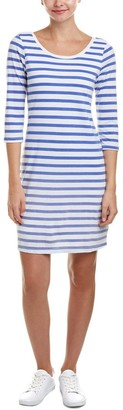 Splendid Women's Sunfaded Stripe Jersey Tee Dress