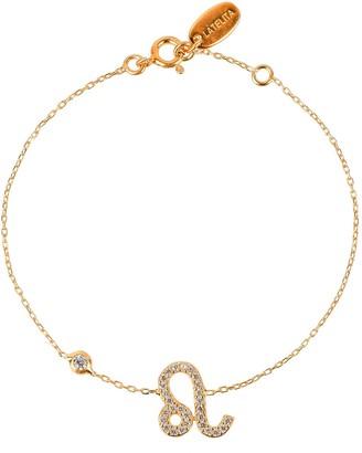 Latelita Zodiac Horoscope Star Sign Bracelet Leo Gold
